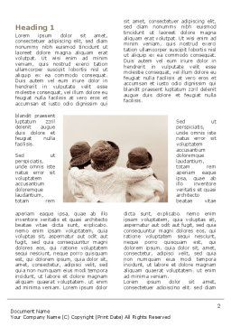 Kids Friendship Word Template, First Inner Page, 03174, People — PoweredTemplate.com