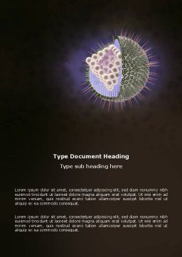 Human Immunodeficiency Virus Word Template, Cover Page, 03185, Food & Beverage — PoweredTemplate.com