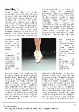 Dancing On Ice Word Template, First Inner Page, 03206, Sports — PoweredTemplate.com