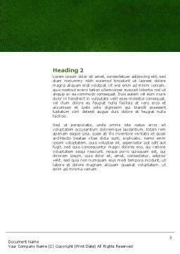 Spear Thrower Word Template, Second Inner Page, 03222, Sports — PoweredTemplate.com