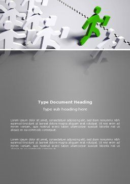 Business Work Word Template, Cover Page, 03229, Business Concepts — PoweredTemplate.com