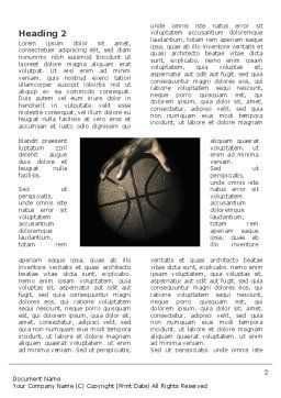 Basketball Player Word Template First Inner Page