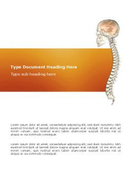 Spinal Cord Word Template Cover Page