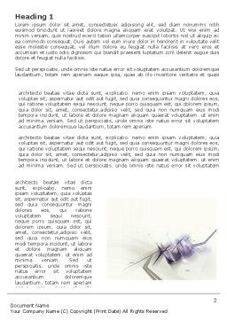 Light Purple Word Template, First Inner Page, 03309, Abstract/Textures — PoweredTemplate.com