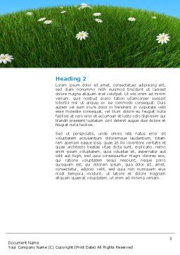 Country House Word Template, Second Inner Page, 03311, Construction — PoweredTemplate.com