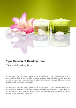 SPA Treatment Word Template, Cover Page, 03328, Careers/Industry — PoweredTemplate.com