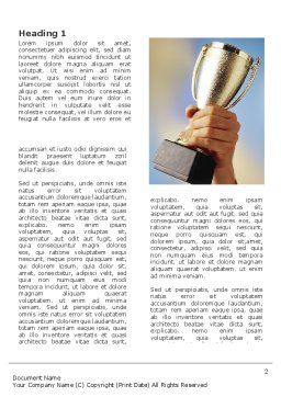 Prize Cup Word Template First Inner Page