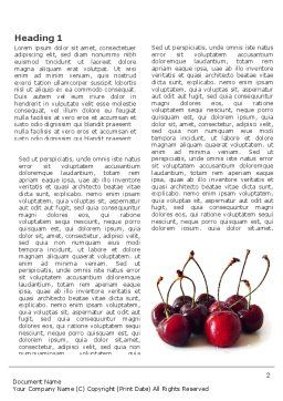 Ripe Cherries Word Template, First Inner Page, 03367, Agriculture and Animals — PoweredTemplate.com