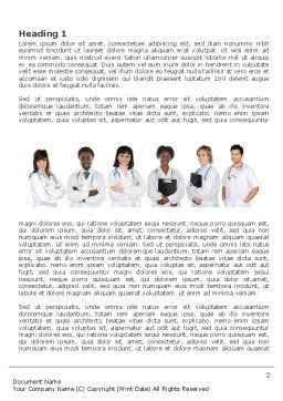 Medical Interns Word Template First Inner Page