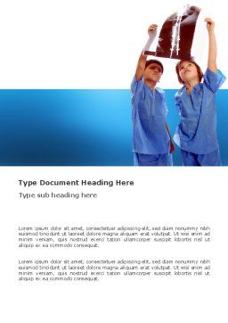Radiology Word Template Cover Page