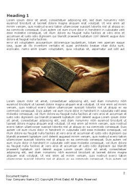 Christianity Word Template First Inner Page