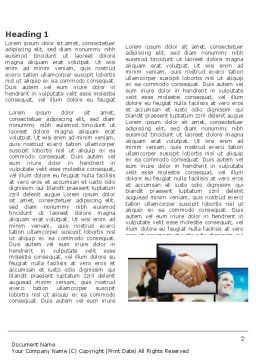 Effective Customer Relationship Management Word Template, First Inner Page, 03437, Business — PoweredTemplate.com