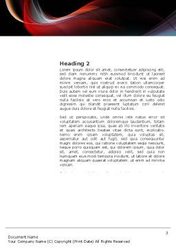 Fit Body Word Template, Second Inner Page, 03455, Sports — PoweredTemplate.com