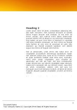 Diving Sport Word Template, Second Inner Page, 03460, Sports — PoweredTemplate.com