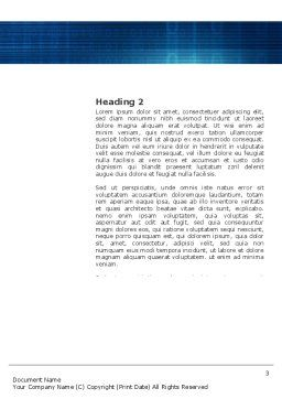Identity Word Template, Second Inner Page, 03478, Technology, Science & Computers — PoweredTemplate.com