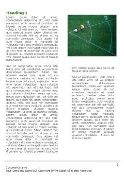 Field Marking Word Template, First Inner Page, 03494, Sports — PoweredTemplate.com