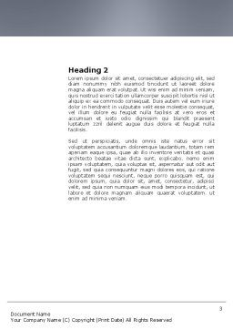Search Engine Word Template Second Inner Page