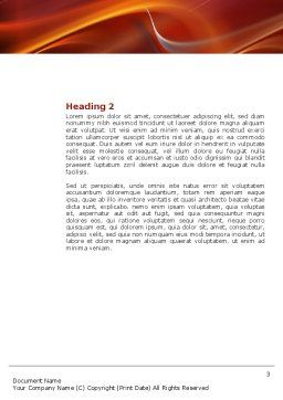 Quarrel Word Template, Second Inner Page, 03502, People — PoweredTemplate.com