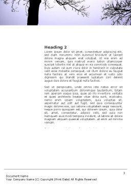 Evening Word Template, Second Inner Page, 03536, Religious/Spiritual — PoweredTemplate.com