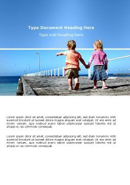 Pier Word Template Cover Page
