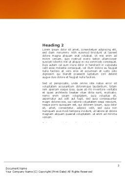 Building Up Word Template, Second Inner Page, 03604, Construction — PoweredTemplate.com