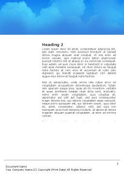 University Education Word Template, Second Inner Page, 03680, Education & Training — PoweredTemplate.com
