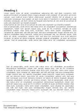Teacher of Class Word Template First Inner Page