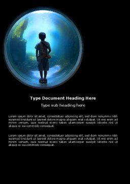 Public Aquarium Word Template Cover Page