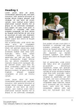 Lecturer Word Template First Inner Page