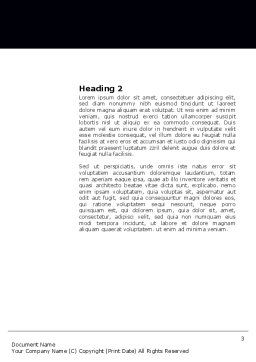 Conciliation Word Template, Second Inner Page, 03832, Nature & Environment — PoweredTemplate.com