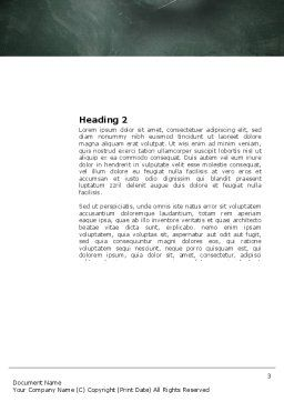Study Process Word Template, Second Inner Page, 03833, Education & Training — PoweredTemplate.com