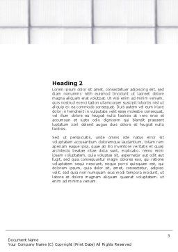 Paediatrist Word Template, Second Inner Page, 03835, Medical — PoweredTemplate.com