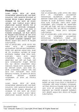 Highway Junction Word Template, First Inner Page, 03837, Cars/Transportation — PoweredTemplate.com