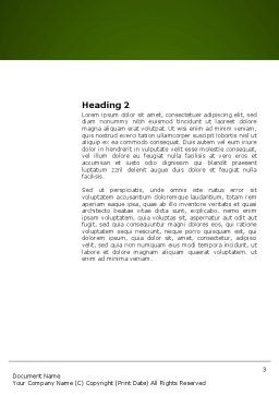 Hard Learning Word Template, Second Inner Page, 03854, Education & Training — PoweredTemplate.com