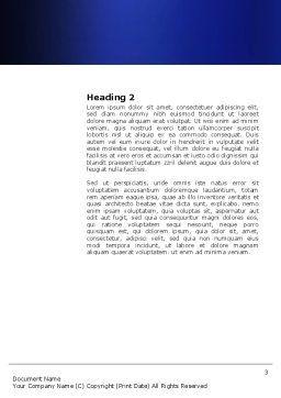 e-Shopping Cart Word Template, Second Inner Page, 03878, Business — PoweredTemplate.com