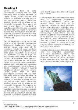 America and World Word Template, First Inner Page, 03882, America — PoweredTemplate.com