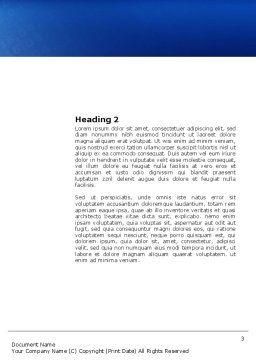 Digital Era Word Template, Second Inner Page, 03905, People — PoweredTemplate.com