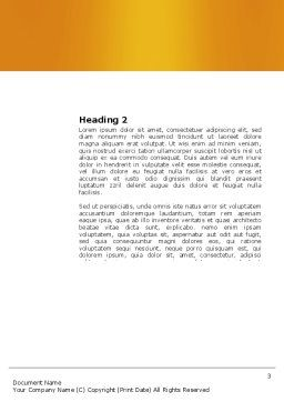 Talk Word Template, Second Inner Page, 03925, Consulting — PoweredTemplate.com