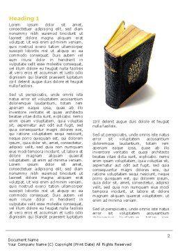 Christian Bible Word Template, First Inner Page, 03936, Religious/Spiritual — PoweredTemplate.com