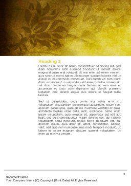 Christian Bible Word Template, Second Inner Page, 03936, Religious/Spiritual — PoweredTemplate.com