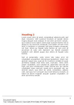 Sales Management Word Template Second Inner Page