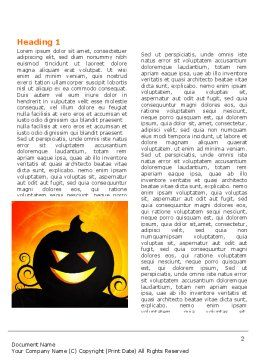 Halloween is Near Word Template, First Inner Page, 03967, Holiday/Special Occasion — PoweredTemplate.com