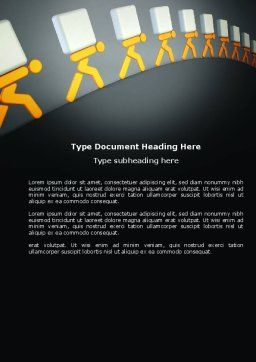 Load Word Template, Cover Page, 03975, Consulting — PoweredTemplate.com