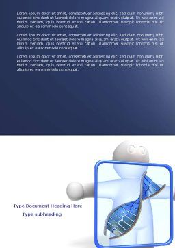 DNA Diagnostics Word Template Cover Page