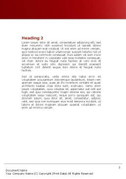 Shelter Word Template, Second Inner Page, 04072, Consulting — PoweredTemplate.com