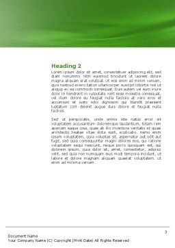 Biogas Word Template Second Inner Page