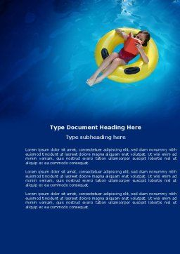 Reading and Leisure Word Template, Cover Page, 04087, Careers/Industry — PoweredTemplate.com