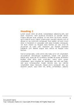 Cardiac Massage Word Template, Second Inner Page, 04089, Medical — PoweredTemplate.com