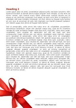 2009 yr Word Template, Second Inner Page, 04122, Holiday/Special Occasion — PoweredTemplate.com