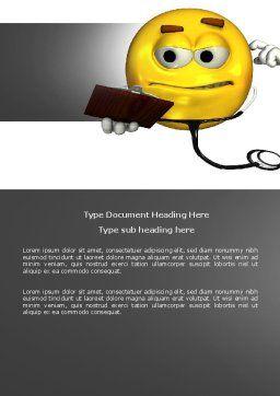 Diagnostics Word Template, Cover Page, 04133, Medical — PoweredTemplate.com